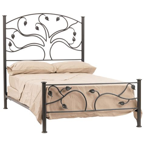 Black Wrought Iron Bed Frames Magnetizing Idea Of Wrought Iron Bed Frames With Antique Look Decofurnish