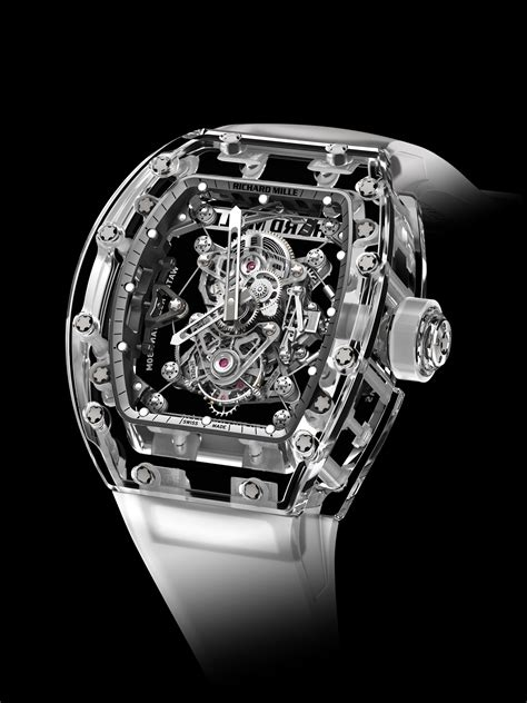 Jam Tangan Richard Mille Rm 56 01 Saphire List White Swiss Eta 2 Richard Mille At Watches Wonders Clear And