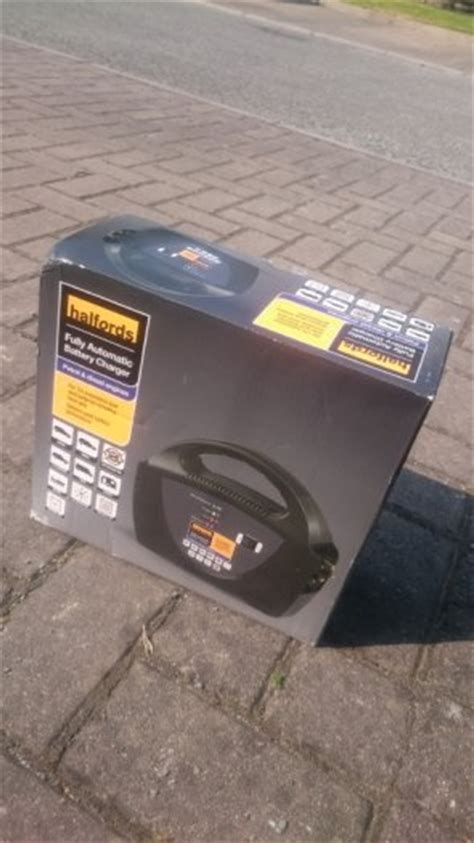 battery charger halfords halfords fully automatic battery charger for sale in