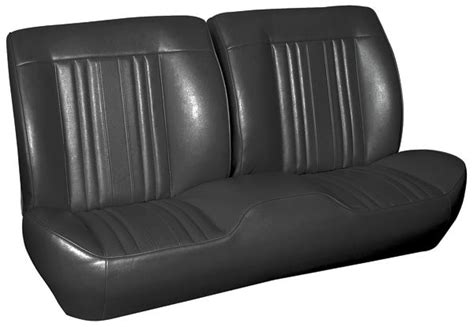 sports bench seats 1969 chevelle sport seats front bench upholstery and foam