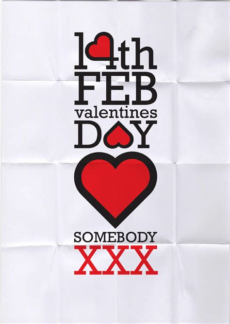 valentines day posters 10 infused s day poster ideas