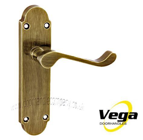 Antique Brass Door Handles by The Door Handle Company