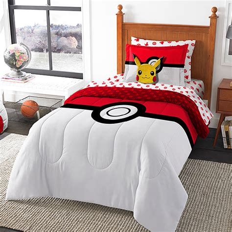 pokemon bedding pokemon bed in a bag pok 233 mon comforter sheets and pillow