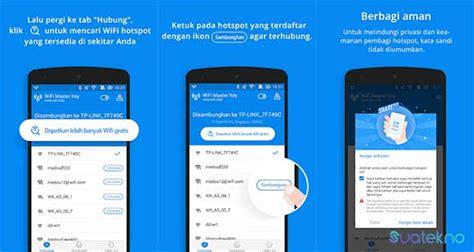 aplikasi bobol wifi terbaik  hp android ios