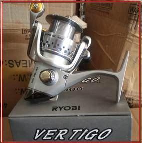 Daftar Alat Pancing Ryobi Daftar Harga Reel Ryobi Vertigo Dan Spesifikasi Terbaru