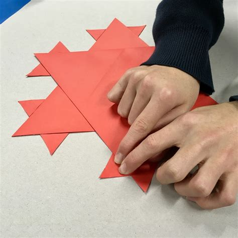 Things To Make Out Of A4 Paper - folding fractals artful maths