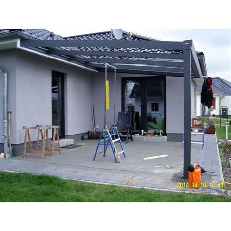 terrassenüberdachung alu glas freistehend aluminium terrassenuberdachung bausatz die neueste
