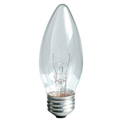 Ac 3 4 Pk Watt ge 60 watt incandescent b13 blunt tip decorative ceiling fan clear light bulb 2 pack 60bm cd2