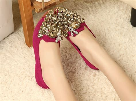 flat bridal shoes with bling velvet flat wedding shoes with bling ipunya