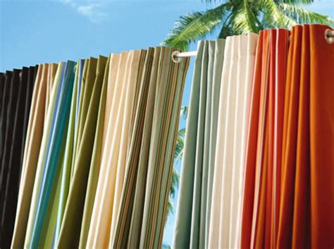 material for outdoor curtains diy outdoor curtains outdoortheme com