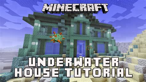 create a house minecraft how to make a house underwater coral house