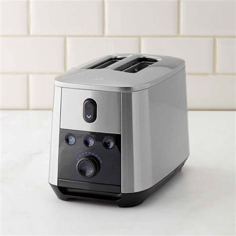 Motorized Toaster oxo on 2 slice motorized toaster williams sonoma