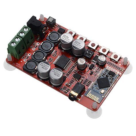 Bluetooth Audio Receiver Csr4 0 Digital Lifier Board Tda7492 2 X 50w With Mic Module sanwu 174 25w 25w tda7492p bluetooth csr4 0 audio receiver digital lifier board sale banggood