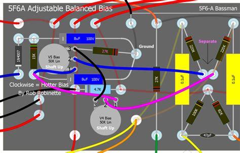 bias resistor wattage single vs dual bias adjust the gear page