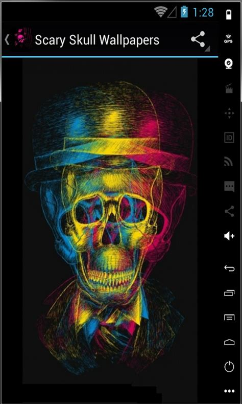horror wallpapers for android hd scary skull hd wallpapers free android app android freeware