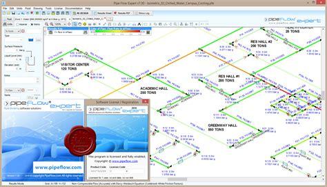 design expert v7 برنامج تصميم وتحليل شبكات الأنابيب pipeflow expert 2016 v7