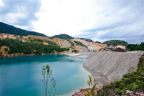 Pepsi Biru tasik biru malaysia s extraordinary blue lake