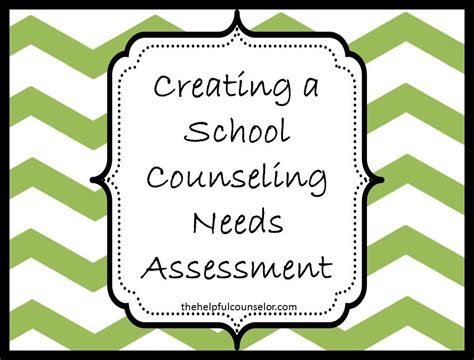 school counseling needs assessment needs assessment template images