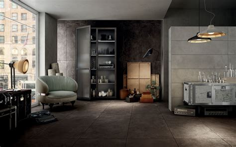 Hard leather Tobacco   Floor and Wall Tiles   Iris Ceramica