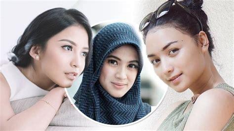 Lipstik Citra Kirana artis indonesia tetap cantik walau tanpa make up makeup daily