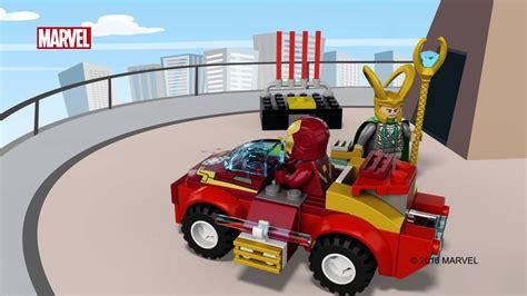Lego Juniors 10721 Iron Vs Loki Junior Vs Ironman Easy To Build iron vs loki lego juniors 10721