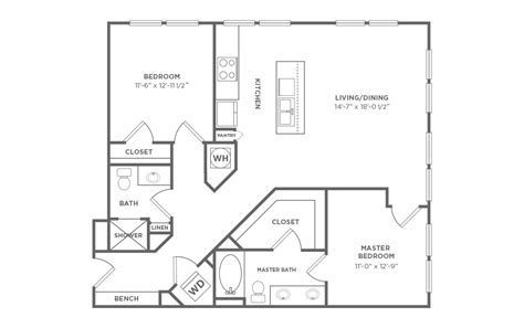 trsm floor plan 2 bedroom 2 bath floor park glen apartments availability floor plans u0026 pricing double wide