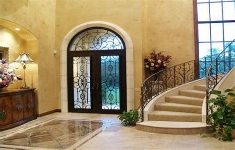 beautiful home interior designs stock photostaircase entry beautiful home interior make