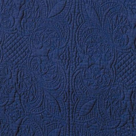navy matelasse coverlet indigo navy matelasse tile quilt by c f