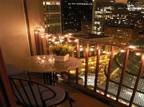christmas light decor idea small balcony ideas about