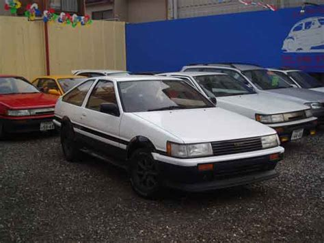 Toyota Levin Modified Toyota Ae86 Levin Gt Apex 1985 For Sale Japan Car On
