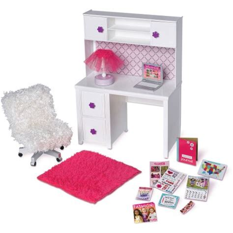 my life doll desk my life as desk and chair walmart com