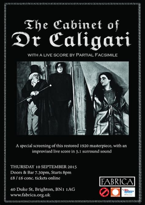 lucid frenzy junior the cabinet of dr caligari with
