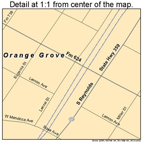 map of orange texas orange grove texas map 4854168