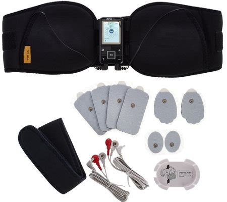 Pch Massager - pch life digital pulse massager belt combo set v33443 qvc com