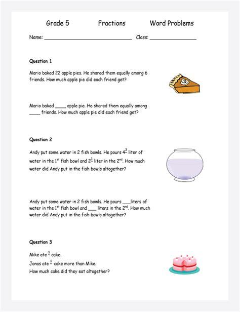 Multiplying Fractions Word Problems Worksheet by Fractions Multiplication Word Problems Word Problems