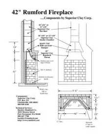 Fireplace Plans Rumford Fireplace Plans Amp Instructions
