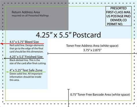 4x6 Postcard Template Doliquid 4x6 Postcard Template
