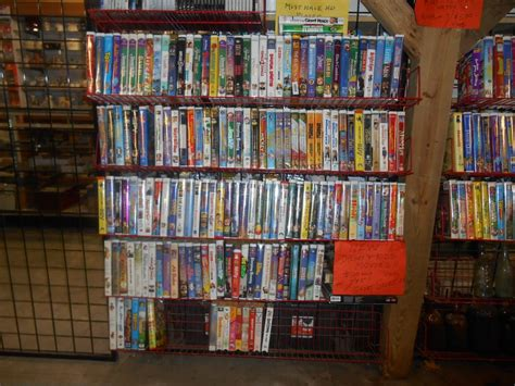 exchange mobile center near me tons of disney and non disney vhs movies at mansfield flea