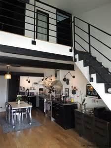 Délicieux La Decoration D Interieur #7: Cuisine-metal-noire.JPG.jpeg