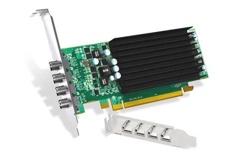Vga Card Matrox products matrox c420 lp pcie x16 c420 e2gblaf 4dp 4dvi 4hdmi 4vga four monitors vga card