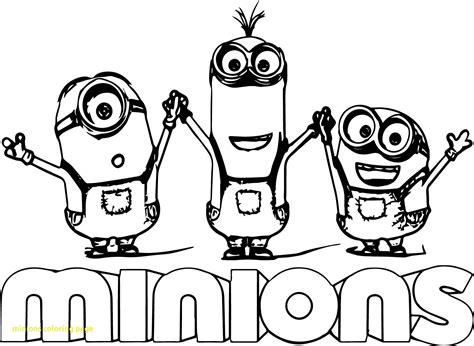 minion coloring page clipart minions coloring page with minion text minions backyard