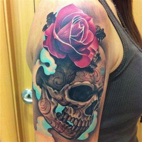 instagram tattoo skull demontattoo s photo on instagram by demontattoo on