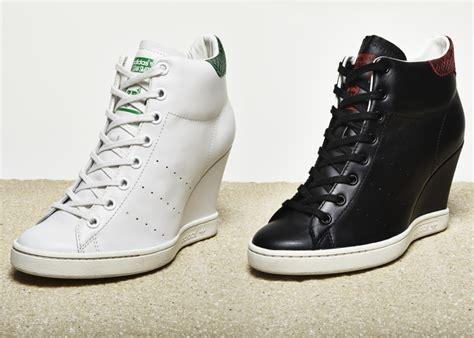 sneakers on adidas originals stan smith up wedge sneakers sneakers