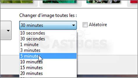 comment changer l image du bureau comment modifier larrire plan du bureau avec windows 7