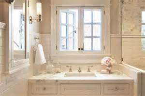 Waterworks Vanities White Designer Bathroom Sink Window