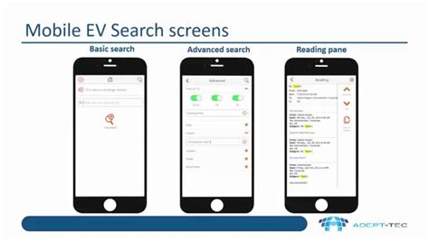 mobile search mobile access to enterprise vault archives using ev mobile