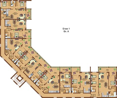 Apartment Complex Floor Plans by Floor Plans Of Apartment Complex Sozopoli Hills In Sozopol