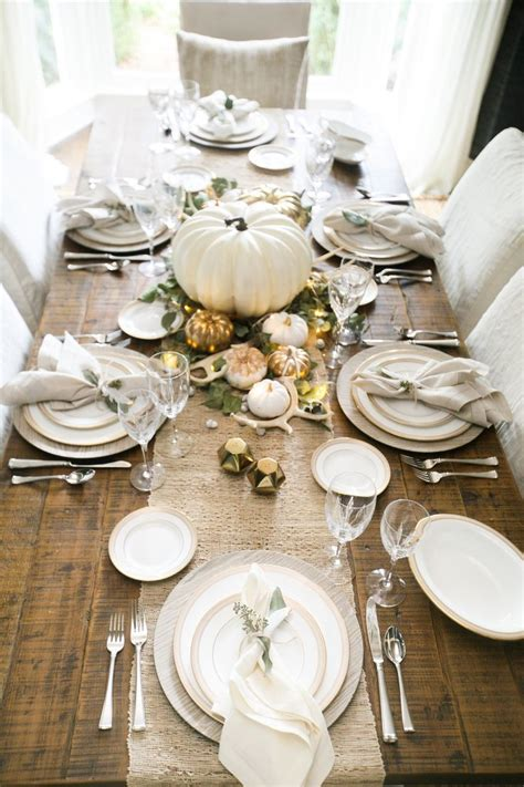 how to decorate table best 25 thanksgiving tablescapes ideas on pinterest