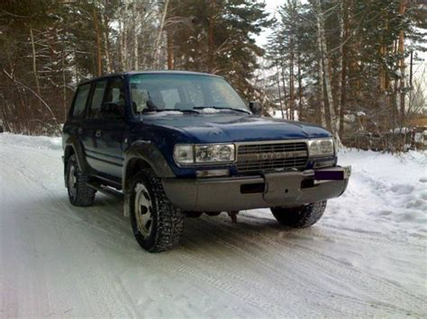 Toyota Land Cruiser 1990 1990 Toyota Land Cruiser Pictures