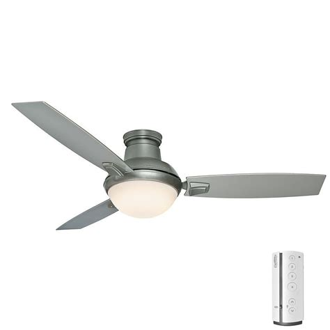 ceiling fan installation cost home depot casablanca verse 54 in led indoor outdoor satin nickel